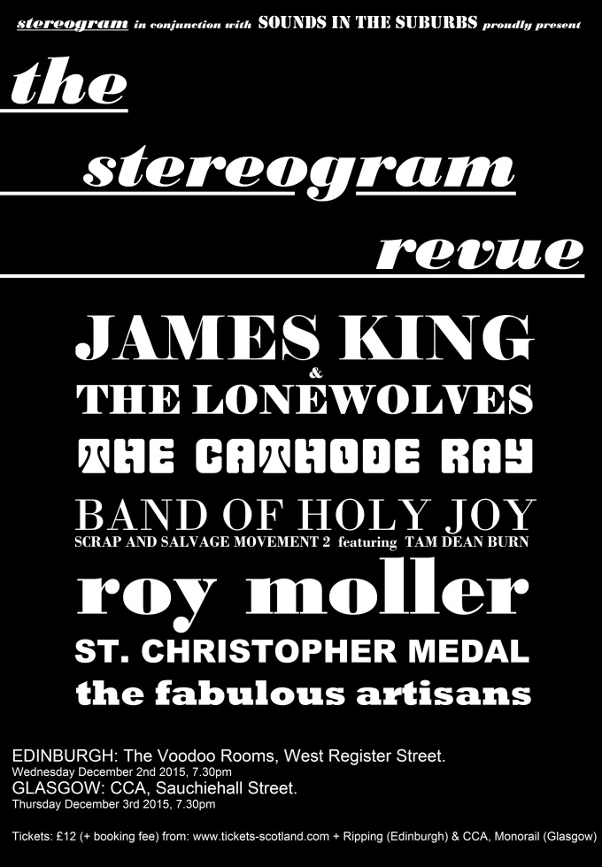 The Stereogram Revue final gig poster 680 x 980