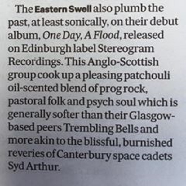 Scotsman Review The Eastern Swell 2