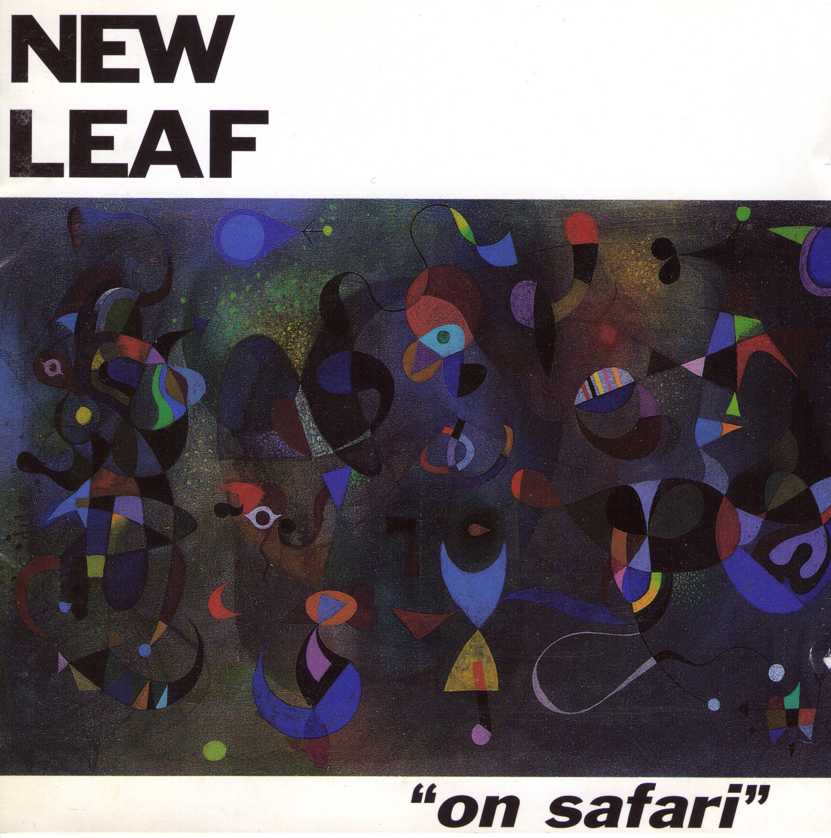 """Cover image for """"On Safari"""" by New Leaf"""
