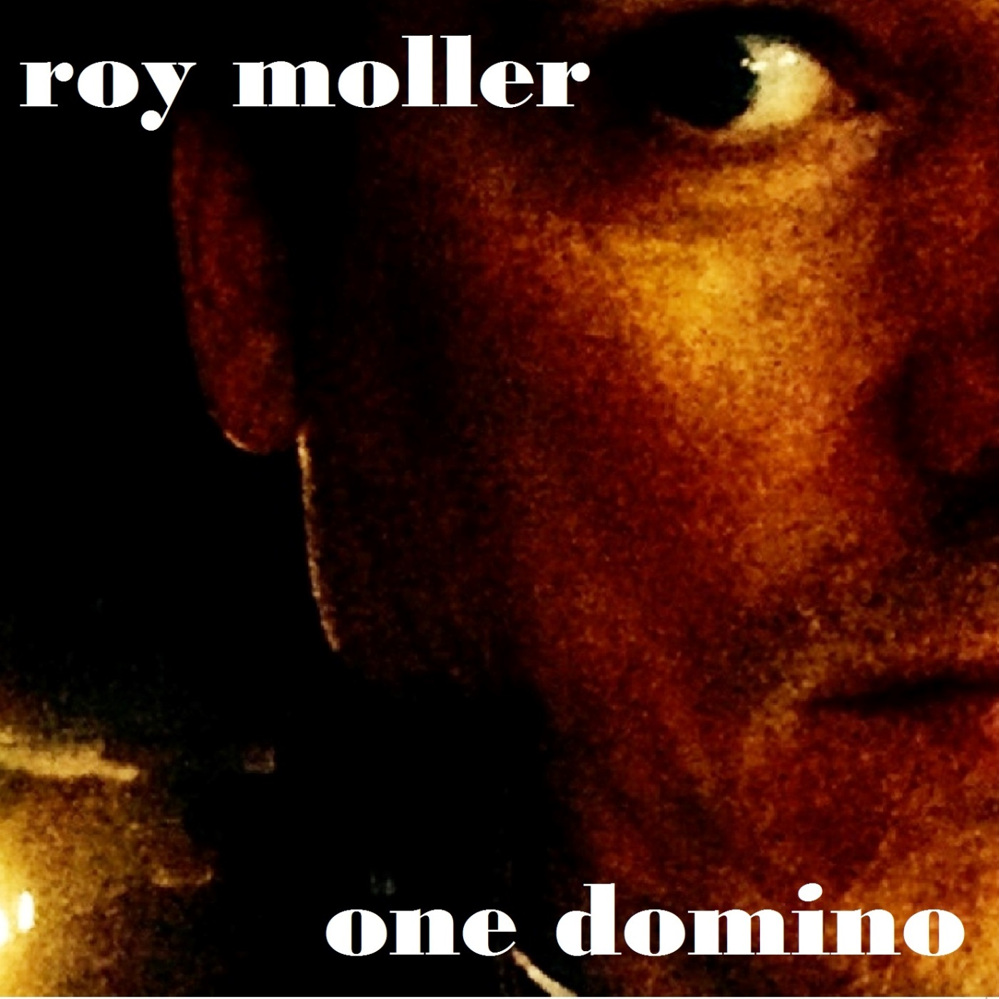 Front Cover art for One Domino by Roy Moller