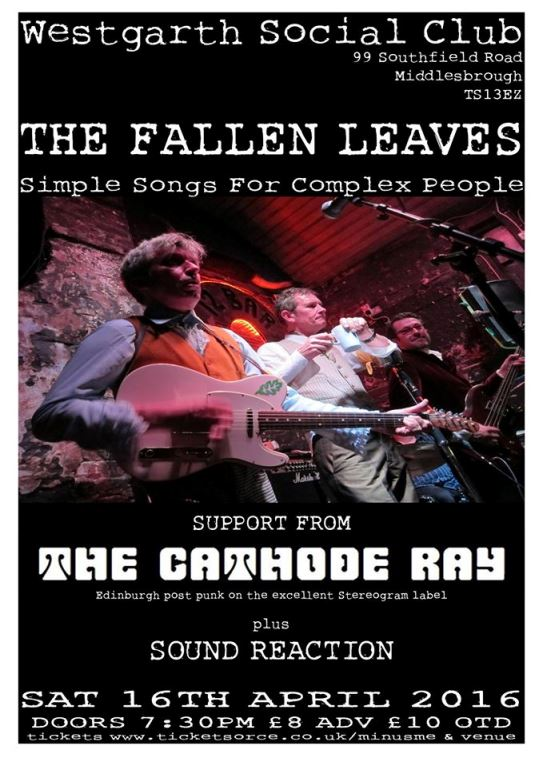 Fallen Leaves + The Cathode Ray 540 x 760