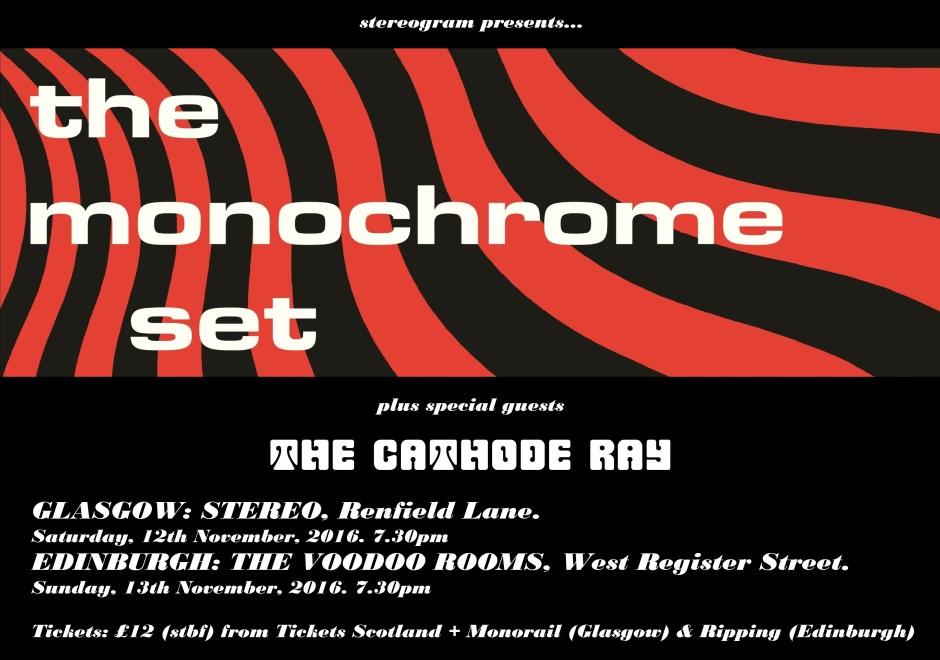 The Monochrome Set Poster 940 x 660