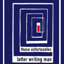 "Artwork for ""Letter Writing Man""/""The Book That I'm Reading"" by Those Unfortunates"