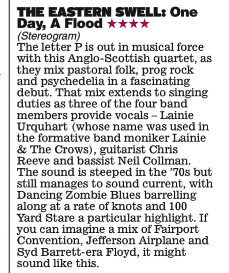 Daily Express Review The Eastern Swell