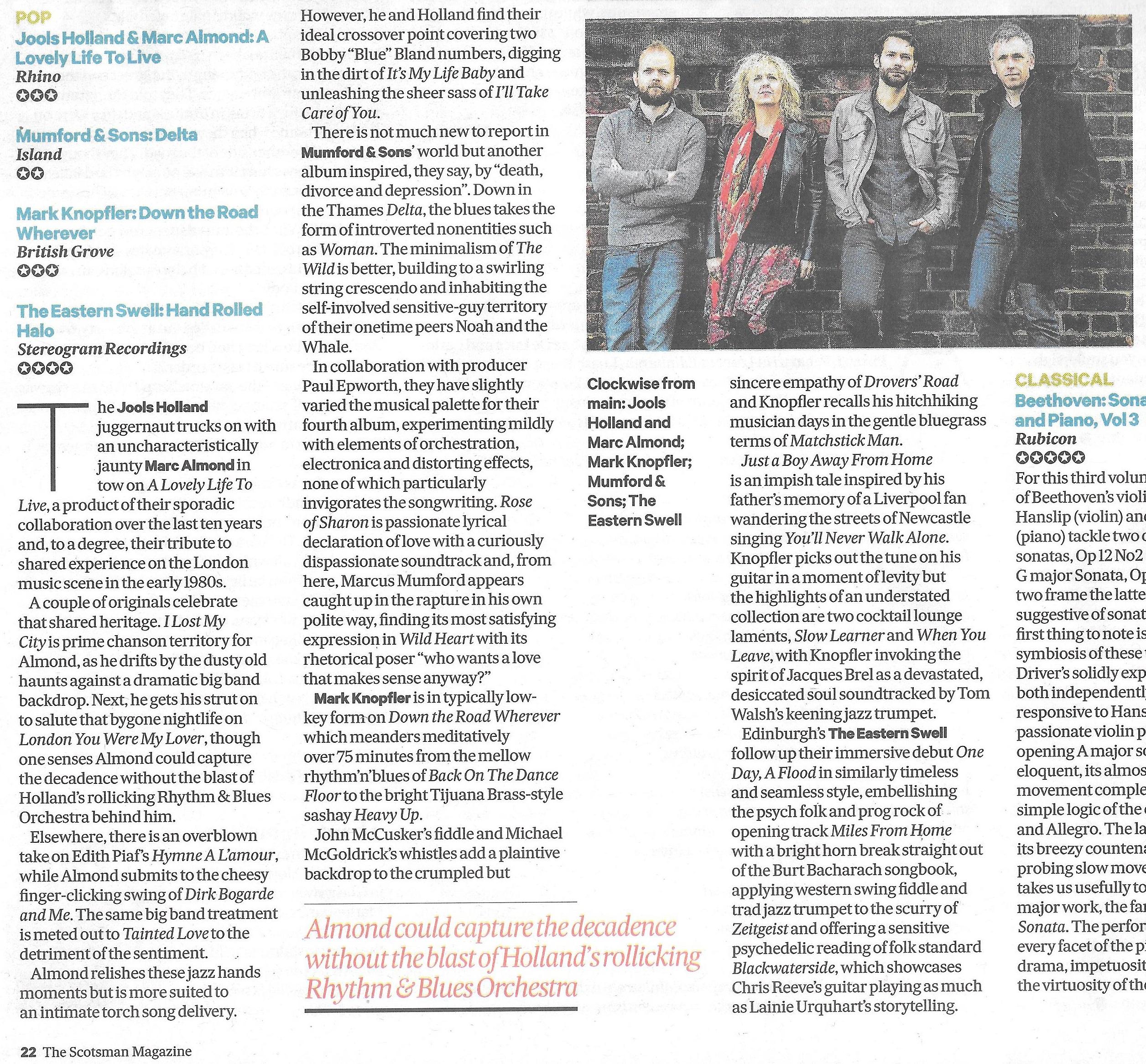 Scotsman review 24.11.18