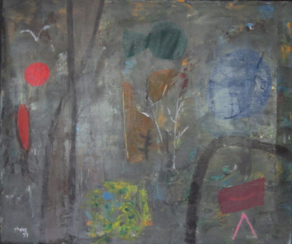Untitled 1997 Oil on canvas 60 x 50 cm