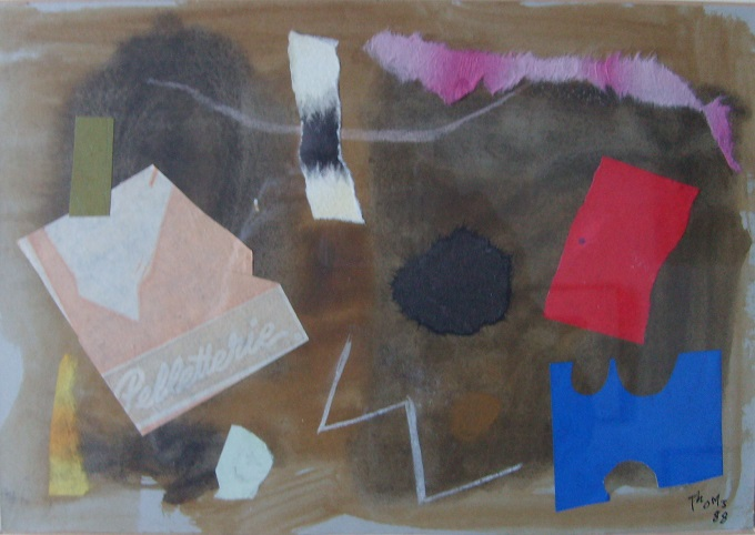 Untitled. Mixed Media. 30 x 25 cm. 1988