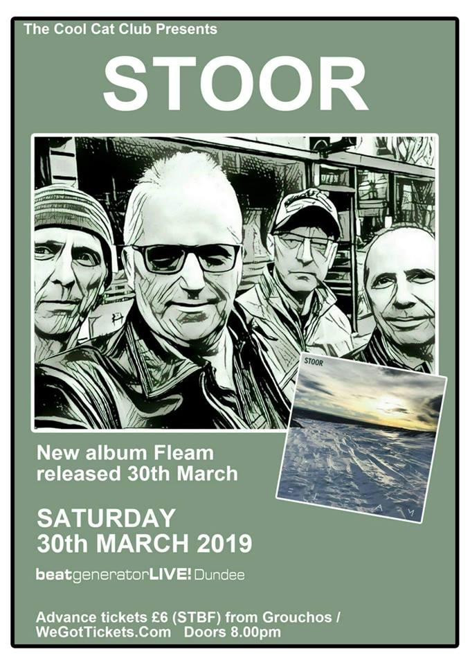 Album launch poster